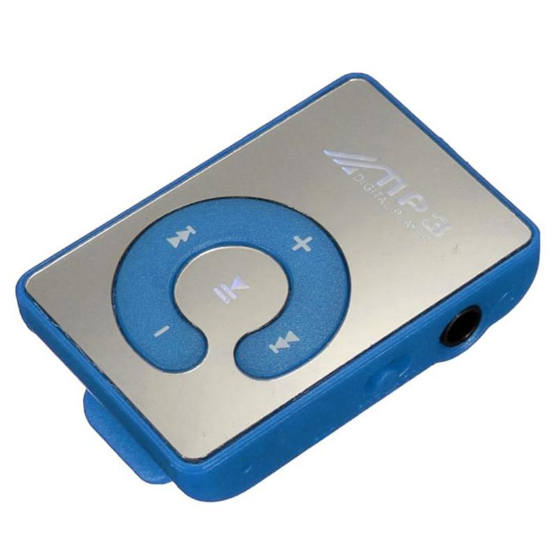 [해외]2pcs 미니 클립 USB 디지털 Mp3 음악 플레이어 지원 8GB SD TF 카드/2pcs Mini Clip USB Digital Mp3 Music Player Support 8GB SD TF Card