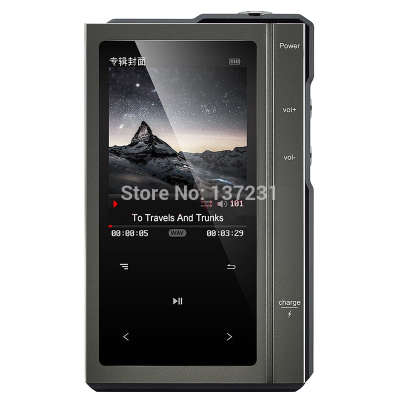 [해외]/Z6 upgrade Original Moonlight AIGO Z6PRO Hard DSD256 MP3 Player ES90018Q2C DAC Hifi Music Player Dual-Core CPULeather Case