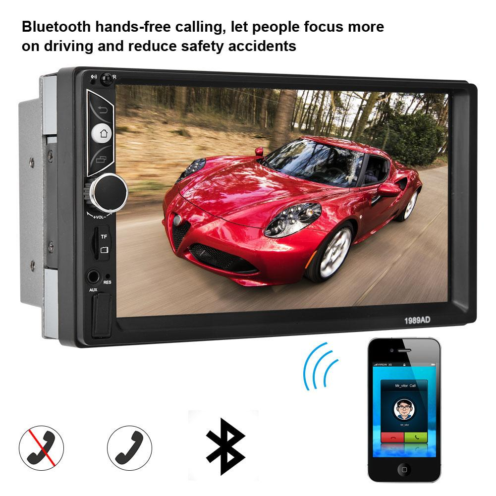 [해외]7 Inch Quad-core High Definition Screen Double Spindle Car MP5-1989 for 안드로이드 7.1 Navigator Hot/7 Inch Quad-core High Definition Screen Double Spi
