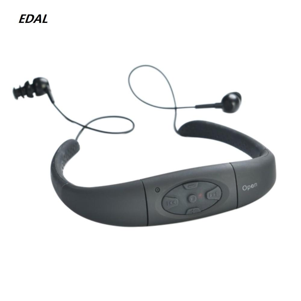 [해외]Professional Waterproof 8GB Water Swimming Sport MP3 Music Player Neckband Stereo Earphone Audio HeadsetFM for Swimming/Professional Waterproof 8G
