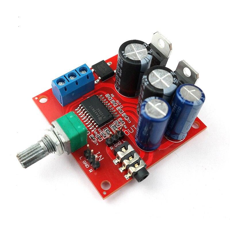 [해외]Tpa6120 헤드폰 앰프 보드 스테레오 매니아 헤드폰 앰프 볼륨 조절 듀얼 AC12-15V 전원 공급 장치/Tpa6120 헤드폰 앰프 보드 스테레오 매니아 헤드폰 앰프 볼륨 조절 듀얼 AC12-15V 전원 공급 장치