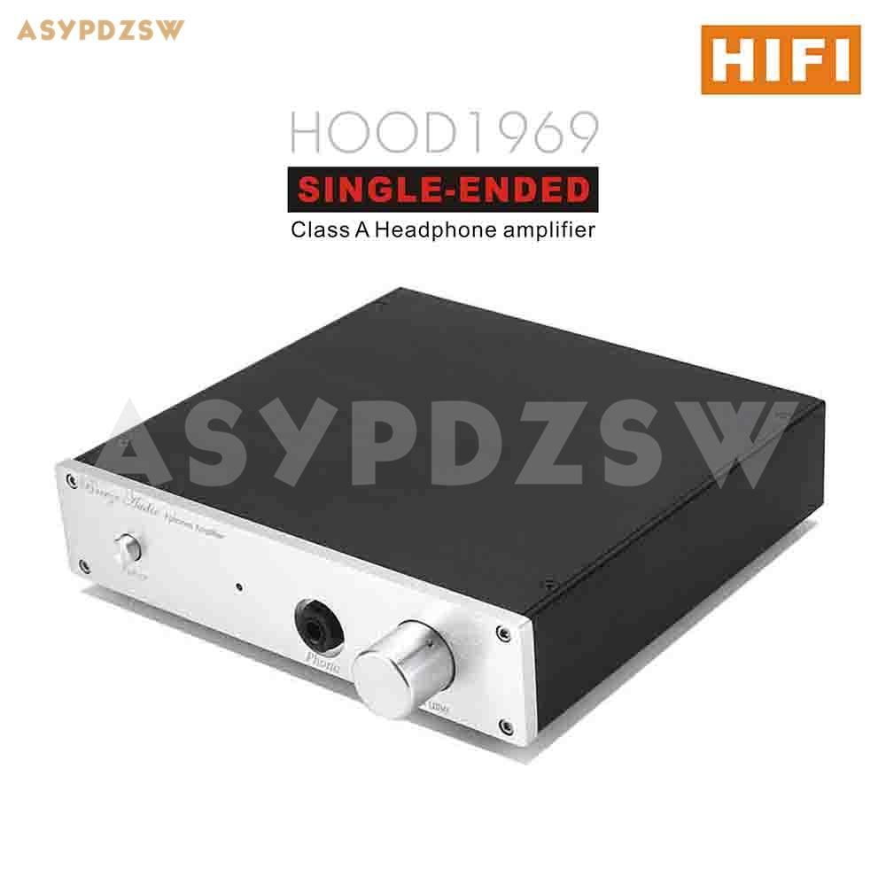 [해외]완성 된 hifi jlh hood1969 싱글 엔드 클래스 a 헤드폰 앰프 115 v 또는 230 v/완성 된 hifi jlh hood1969 싱글 엔드 클래스 a 헤드폰 앰프 115 v 또는 230 v