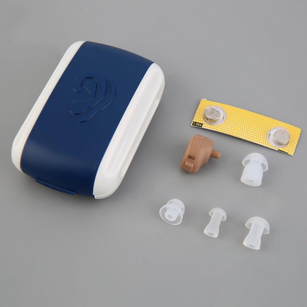 [해외] New Hearing Aid Portable Small Mini Personal Sound Amplifier In the Ear Tone Volume Adjustable Hearing Aids Care  / New Hearing Aid Portable Smal