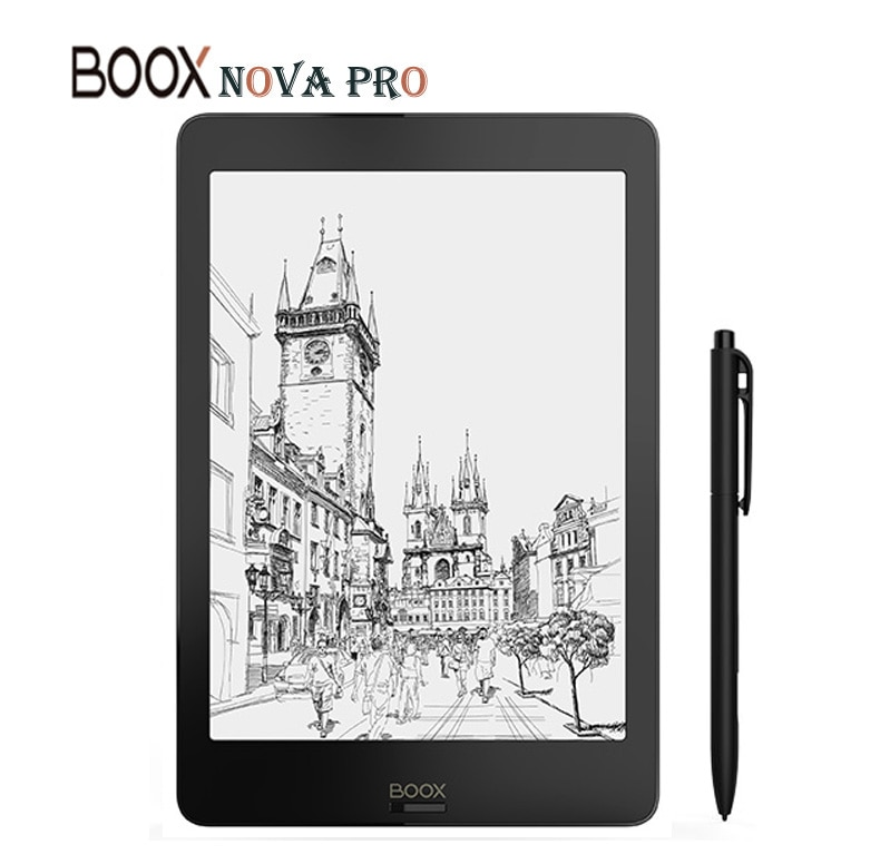 [해외]BOOX NOVA PRO eBook Reader The First Versatile eReader 2G/32G Contains Dual Touch and Front Light Flat screen e-Book Reader+case/BOOX NOVA PRO eBo