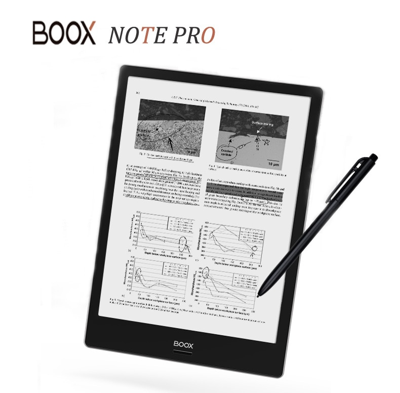 [해외]ONYX BOOX NOTE PRO e-Book Reader 4G/64G Dual Touch e-ink e-Book Reader Front Light Flat pannel screen e-Book e-ReaderPen/ONYX BOOX NOTE PRO e-Book
