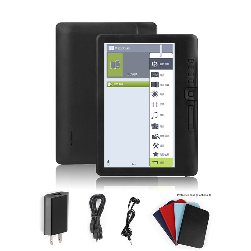 [해외]CLIATE 4G 7 inch Color screen Ebook Reader SmartHD resolution Digital E-book+Video+MP3 music player/CLIATE 4G 7 inch Color screen Ebook Reader Sma