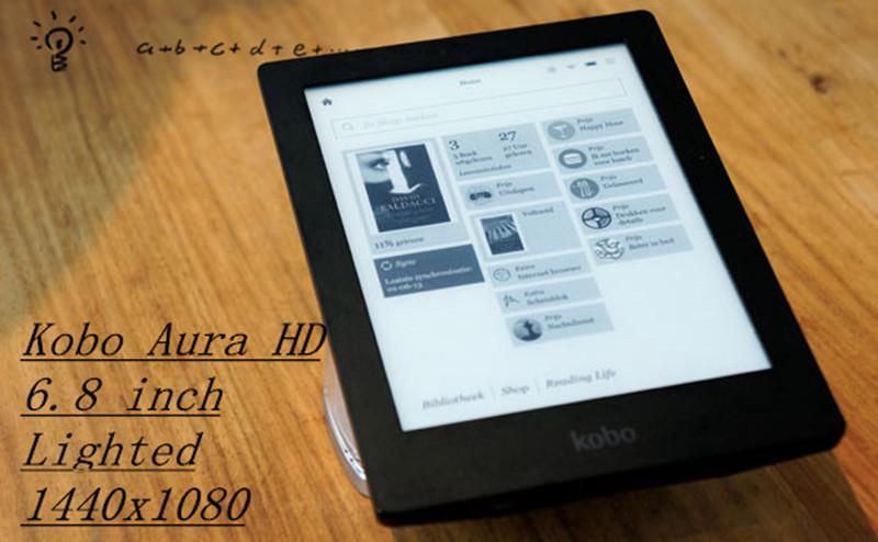 [해외]전자 책 kobo aura hd ereader 6.8 인치 1440x1080 터치 스크린 전자 책 리더 전자 잉크 전면 라이트 전자 책 리더 전자 리더/전자 책 kobo aura hd ereader 6.8 인치 1440x1080 터치 스크린 전