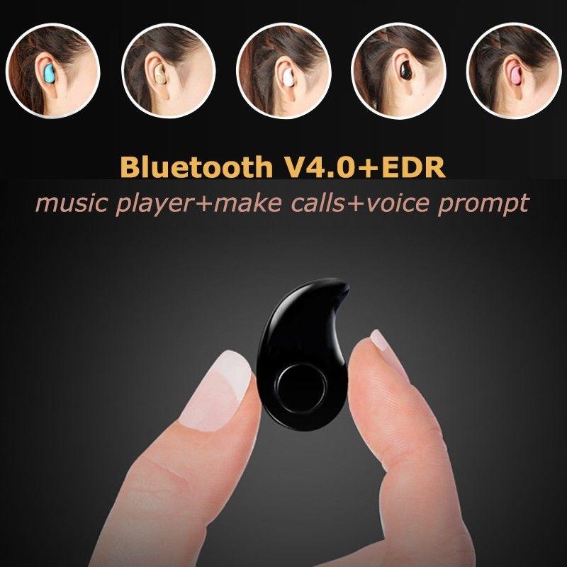 [해외]BreezeMusic 미니 블루투스 이어폰 s530 블루투스 스피커 작은 숨겨진 헤드폰 토크 휴대 전화 ipad 아이팟에 대한 음악 듣기/BreezeMusic Mini bluetooth Earphones s530 Bluetooth Speaker Small Hid