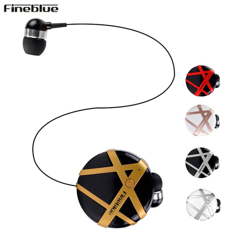 [해외]Fineblue FD-55 무선 블루투스 헤드셋 통화 진동 착용 휴대용 칼라 클립 헤드셋 인 이어 무선 이어폰/Fineblue FD-55 Wireless Bluetooth Headset Calls Remind Vibration Wear Portable Colla