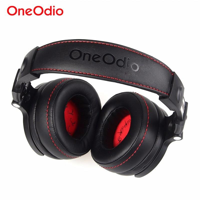 [해외]Oneodio Foldable Over-Ear 유선 헤드폰 전화 컴퓨터 용 Professional Studio Pro 모니터 음악 DJ 헤드셋 게임 이어폰/Oneodio Foldable Over-Ear Wired Headphone For Phone Compute