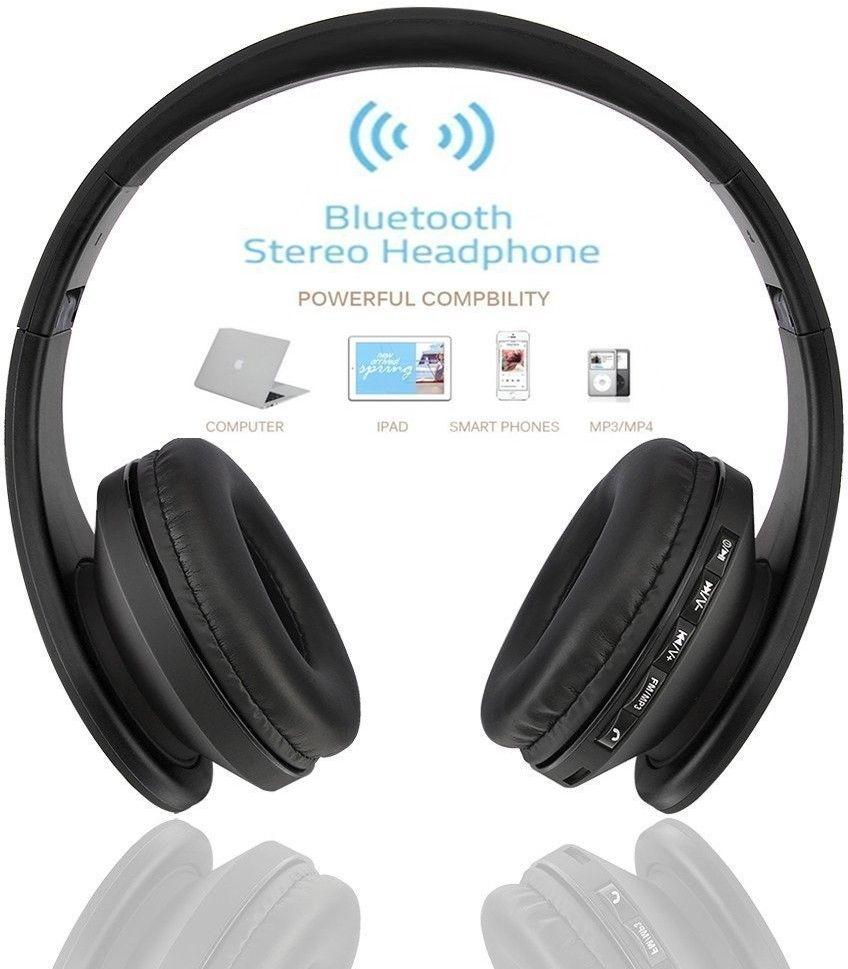 [해외]베스트 셀러 Andoer 무선 헤드폰 디지털 스테레오 블루투스 4.1 EDR 헤드셋 카드 MP3 플레이어 이어폰 FM 라디오 모두를음악/Best Selling Andoer Wireless Headphones Digital Stereo Bluetooth 4.1 E