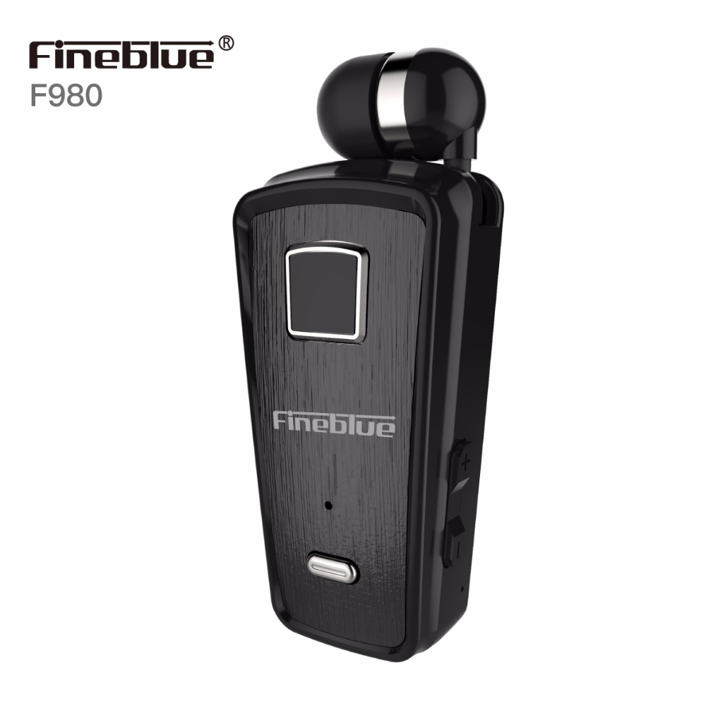 [해외]파인 블루 최신 F980 미니 무선 블루투스 헤드폰 이어폰 핸즈프리 이어폰 마이크로폰 헤드셋웨어 클립 Auriculares/Fineblue Newest F980 Mini Wireless Bluetooth Headphone In-Ear Handsfree Earph