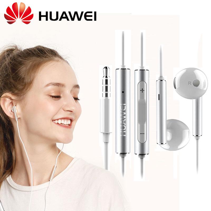 [해외]/Original HUAWEI AM116 Metal Earphone Honor AM115 3.5mm In Ear Hearphone Headset Mic Volume P10 Plus P9 P8 P7 Lite Mate 8 9 6X V9