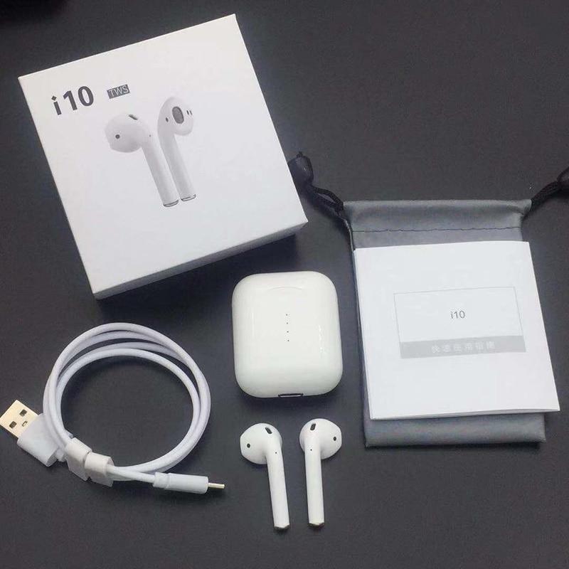 [해외]/i10 i9s Afans tws Bluetooth Earphones Wireless earphone Bluetooth 5.0 Earbud Touch control headset Binaural call for smart phone