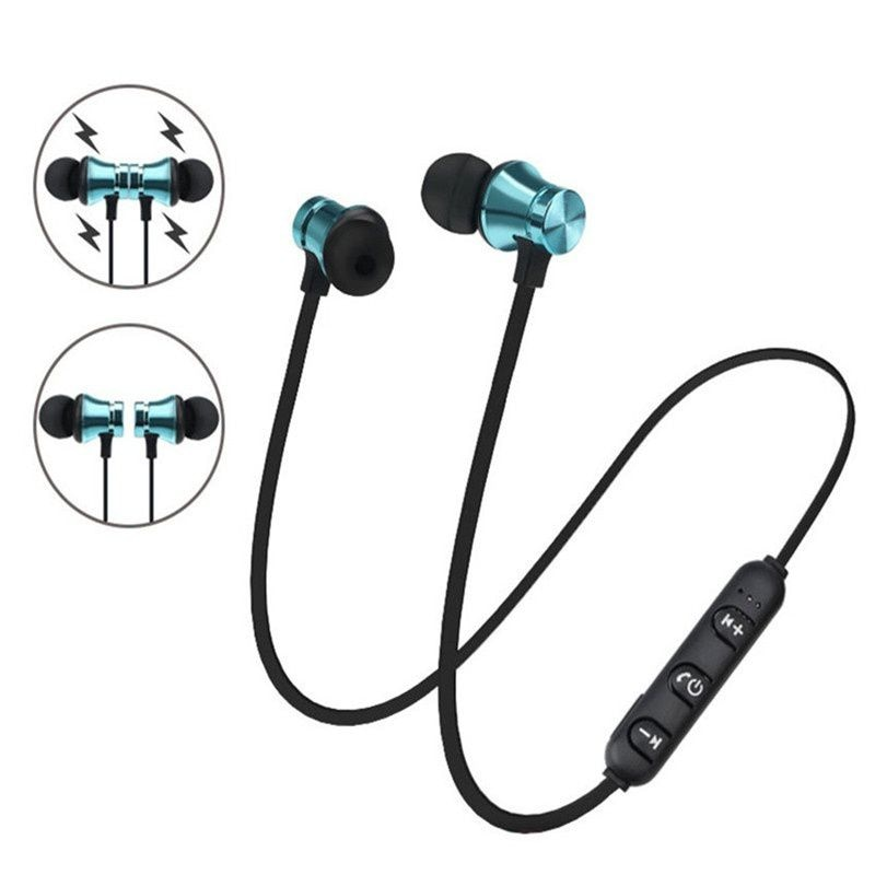 [해외]Bluetooth 4.2 Headphone In-Ear Earbuds Stereo Earphone Sports Headset Wireless Magnetic Earpiece SD1  Earphone/Bluetooth 4.2 Headphone In-Ear Earb