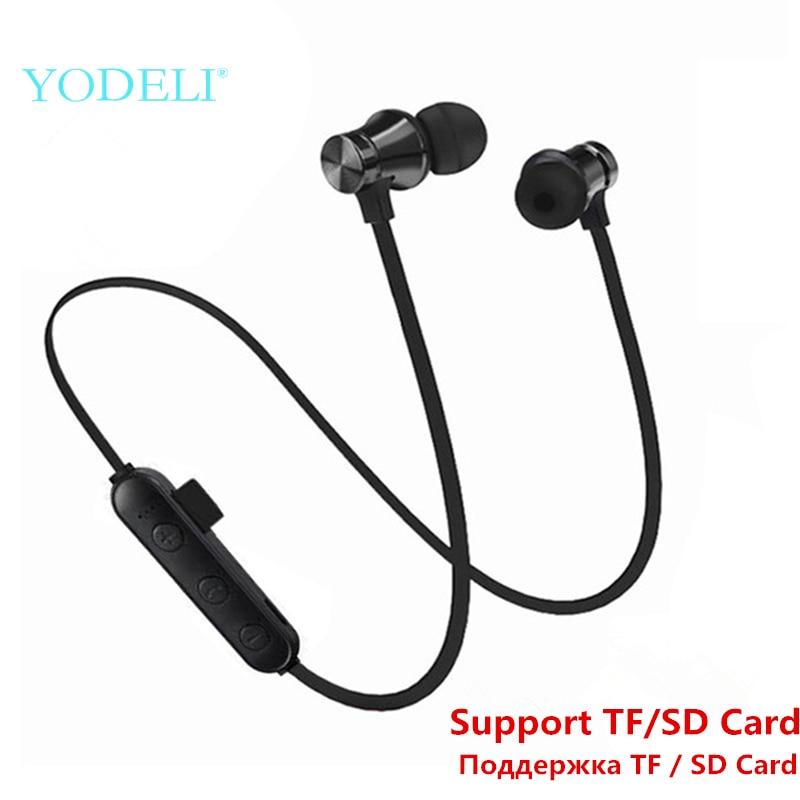 [해외]Best Bluetooth Earbuds Sport Wireless Headphones Stereo Bass Bluetooth Earphone HeadsetMic Support TF/SD Card for Phone/Best Bluetooth Earbuds Spo