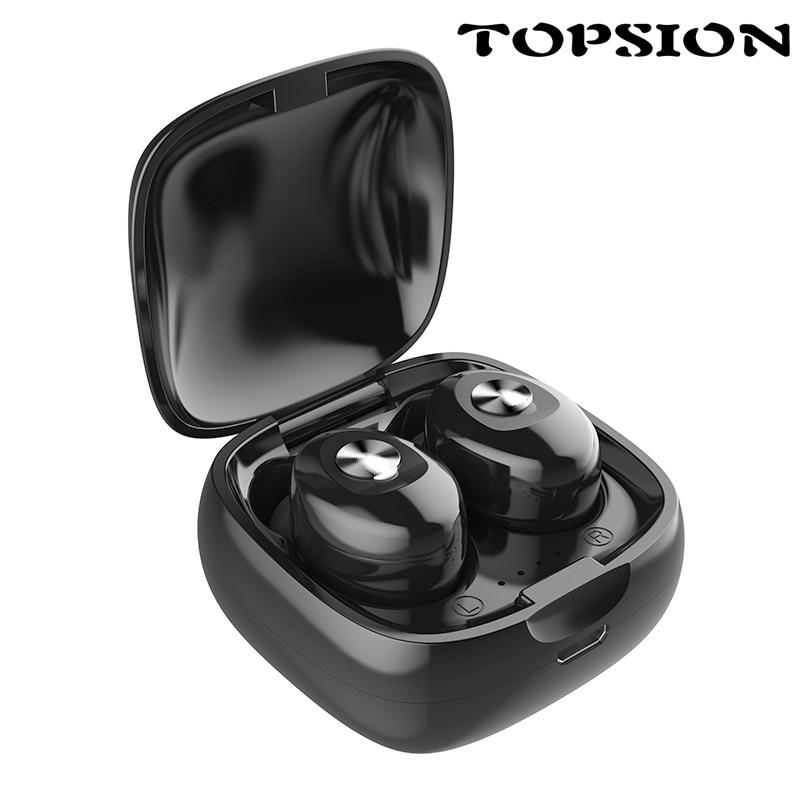 [해외]TOPSION Bluetooth Headphones 5.0 Stereo Earbuds automatically pair bluetooth  Earphone TWS Wireless Bluetooth Headset/TOPSION Bluetooth Headphones