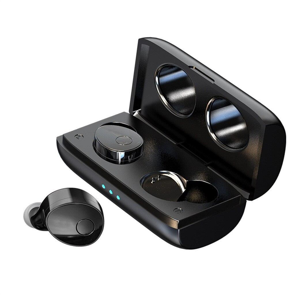 [해외]TWS Wireless Mini Bluetooth Earphone  In-Ear For 안드로이드 ISO Mobile Stereo Earbud Sport Ear PhoneMic Portable 6.4A/TWS Wireless Mini Bluetooth Earph