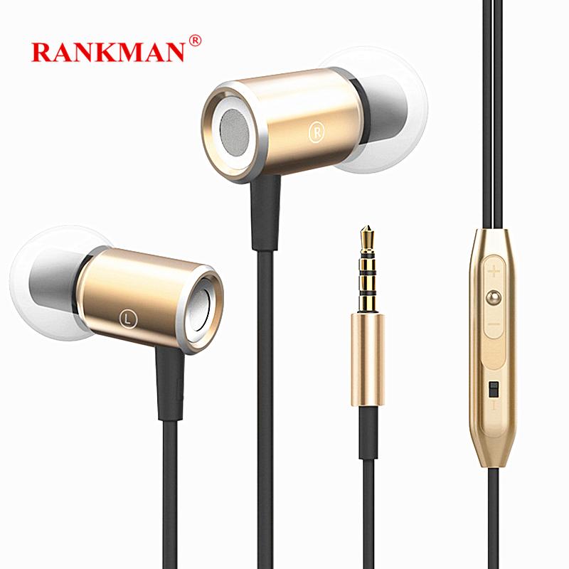 [해외]Rankman Stereo Magnetic Earphones Bass Sport Earbuds Wired In Ear EarphonesMic for phones MP3 PC/Rankman Stereo Magnetic Earphones Bass Sport Earb