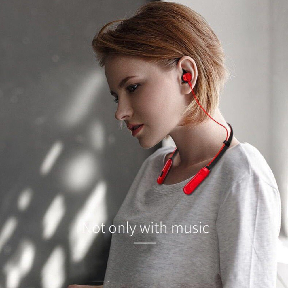 [해외]Digitalworld Neck hanging Wireless Bluetooth Headset Wireless Sports Stereo Super Bass For iPhone/Digitalworld Neck hanging Wireless Bluetooth Hea