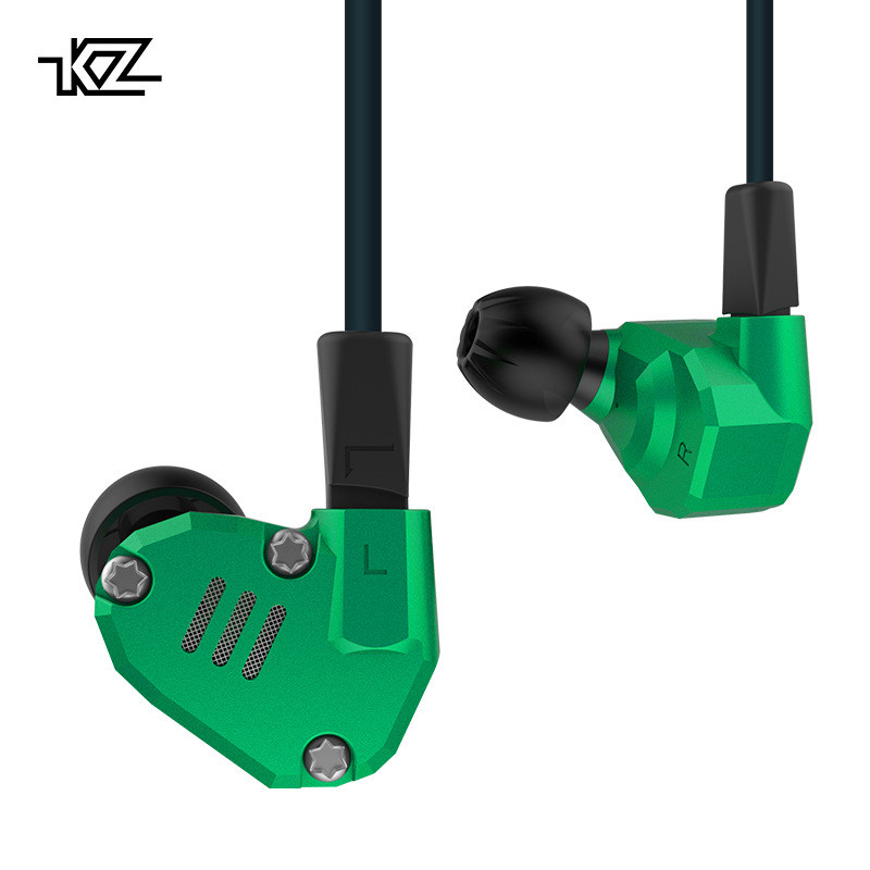 [해외]Kz Zs6 Eight Driver Earphone 2Dd+2Ba Dynamic And Armature In Ear Hifi Stereo Sport Headset Detachable Upgrade Cable Earphones/Kz Zs6 Eight Driver