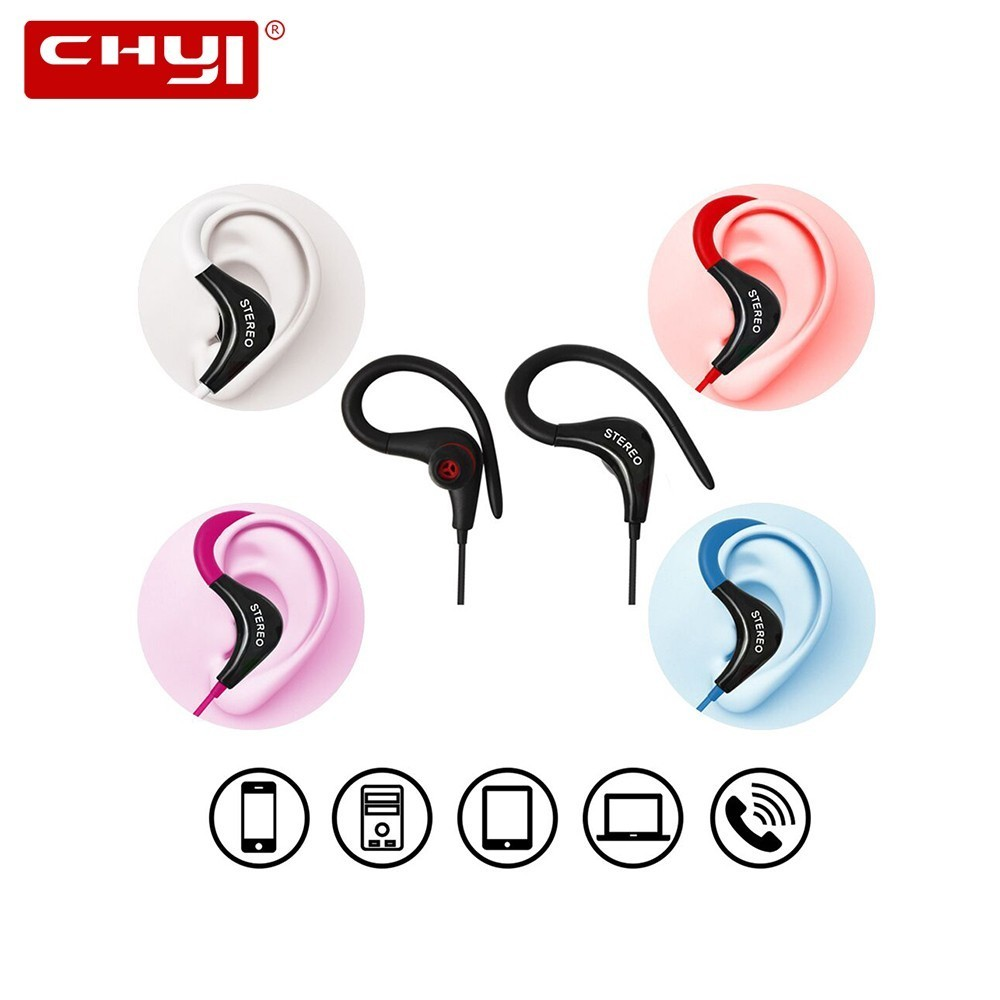 [해외]CHYI Fashion ear-mounted sports earphone universal sports earphone./CHYI Fashion ear-mounted sports earphone universal sports earphone.