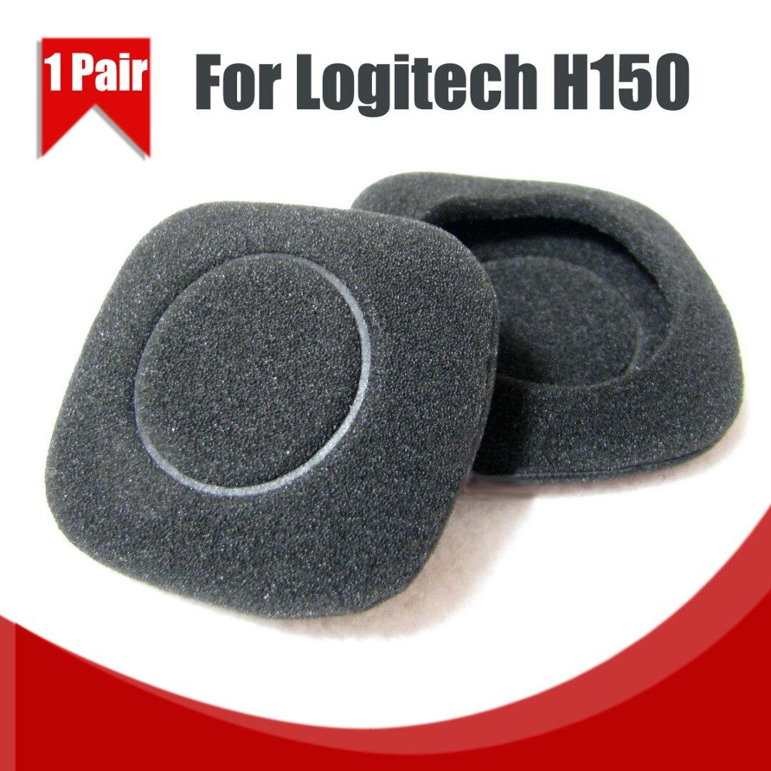 Logitech h150 h130 h250 헤드폰 헤드셋 용 1 pair/2 pcs 교체 용 이어 패드 이어 패드 이어 쿠션