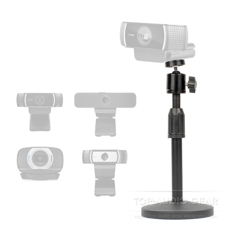 [해외]Tabletop Boom Arm Mic Stand Mount Holder For Logitech C922 C930e C930 C920 C615 C 922 930 e Webcam Microphone Mounting Bracket/Tabletop Boom Arm M