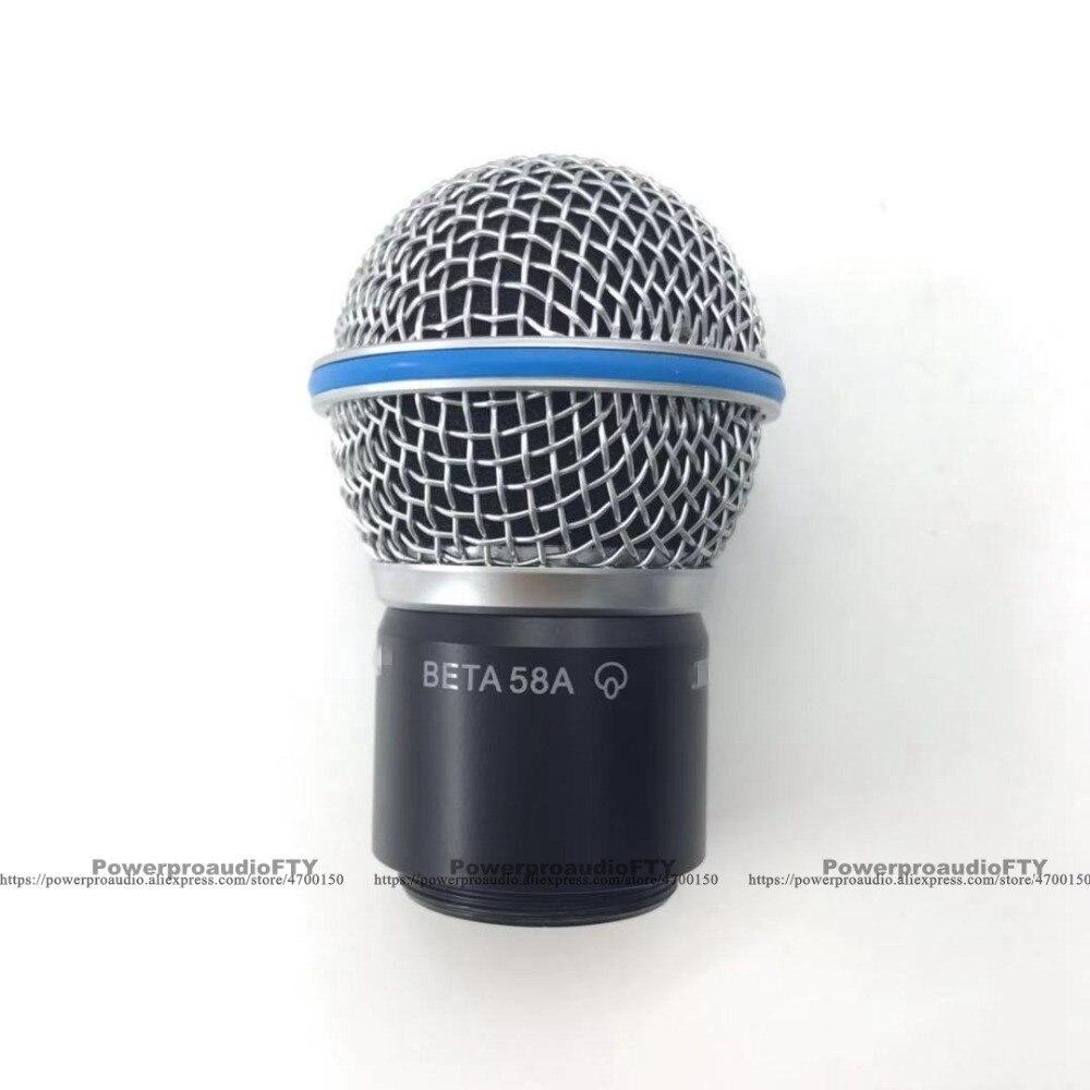[해외]Shure sm58 sm58s sm58lc beta58 beta58a 베타 pgx24 slx24 용 캡슐이있는 새로운 교체 볼 헤드 메쉬 마이크 그릴/Shure sm58 sm58s sm58lc beta58 beta58a 베타 pgx24 slx2