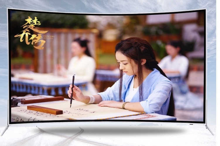 /Full HD Real 4K LED 1080P 55 65 inch ultra slim 안드로이드 television 2GB RAM 8GB ROM  Smart TV