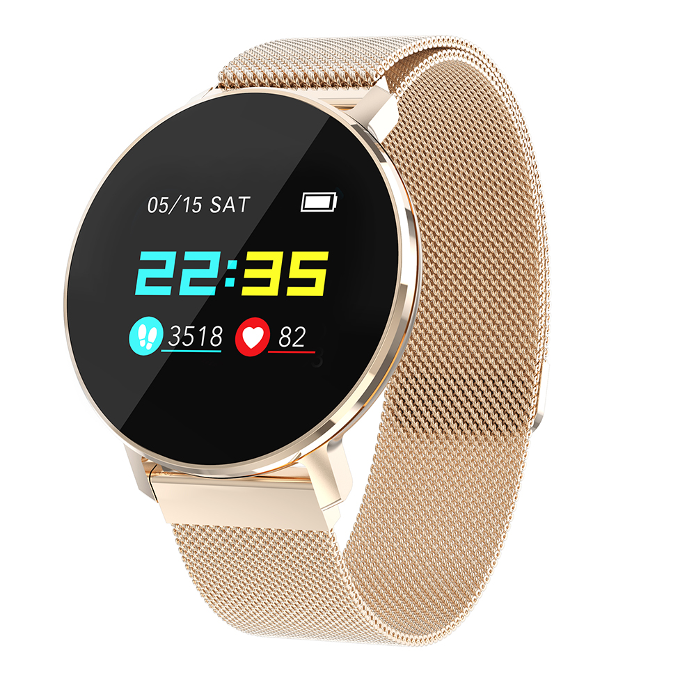 [해외]/Smart Watch T5 1.04 inch Screen BT4.0 Heart Rate Blood Pressure Fitness Alarm IP67 Waterproof Sports Smartwatch For iOS/안드로이드