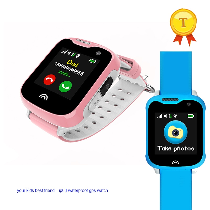 [해외]/high quality GPS Tracker Locator Child Smart Watch Phone Remote Camera SIM Card 2-way Calls SOS WIFI gps watchbig battery