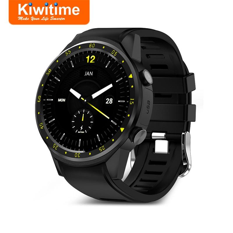 [해외]KIWITIME KF01 GPS Smart Watch ConnectedCompass Camera SIM Card Men Multi-Sports Smartwatch for iPhone Huawei 안드로이드 Phone/KIWITIME KF01 GPS Smart W