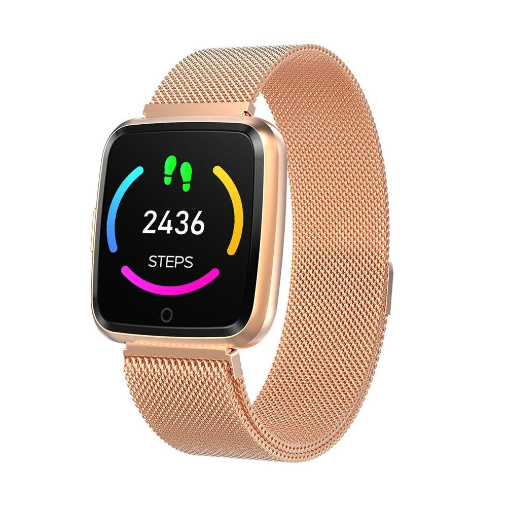 [해외]Y7 Smart Watch IP67 Waterproof Fitness Bracelet Heart Rate Monitor Wristband Fitness Tracker Men Women Smartwatch Sport Watch./Y7 Smart Watch IP67