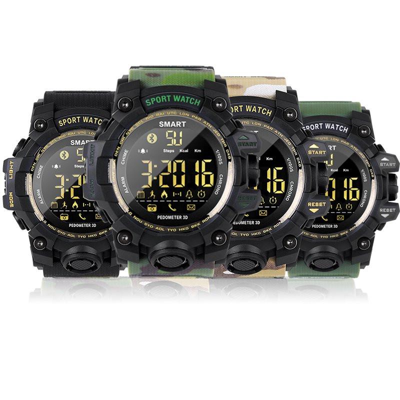[해외]EX16S Smart Watch Fitness Clock Bluetooth Notification Remote Control Pedometer Waterproof Men`s Wristwatch Stopwatch/EX16S Smart Watch Fitness Cl