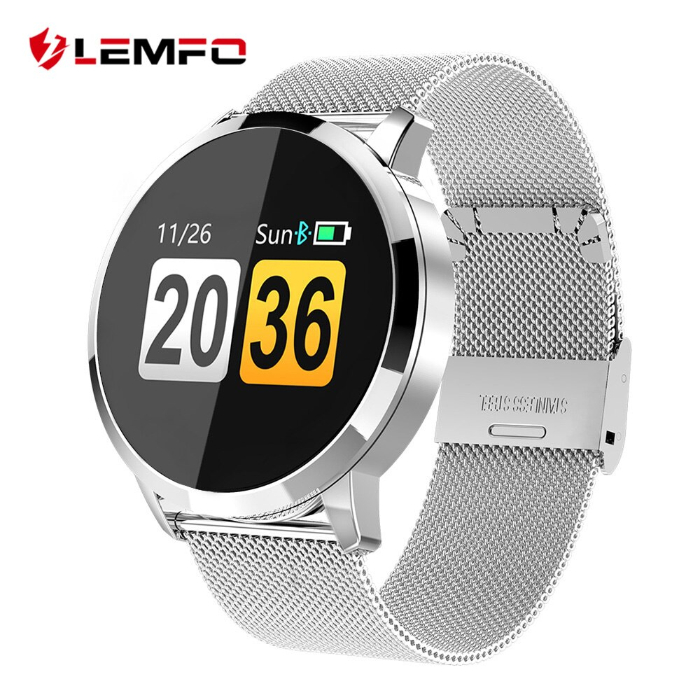 <span style=''>[해외]LEMFO Q8 1.0 Inch OLED Smart Watch Women Water..</span>