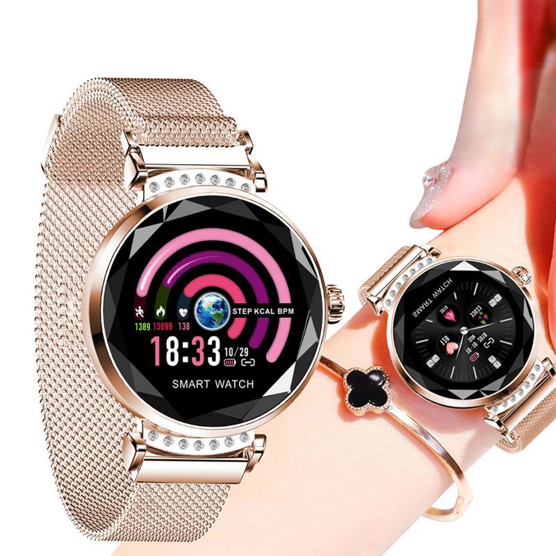 [해외]H2 smart watch women blood pressure heart rate waterproof smart bracelet heart rate waterproof/H2 smart watch women blood pressure heart rate wate