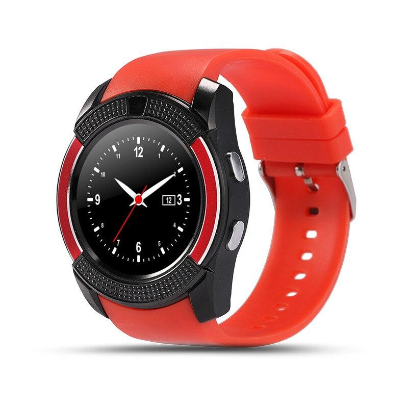 [해외]Bluetooth Smart Watch V8 2G SIM/SD Card reloj inteligentecamera Fitness Tracker Smartwatch For IOS 안드로이드 PK DZ09 GT08/Bluetooth Smart Watch V8 2G