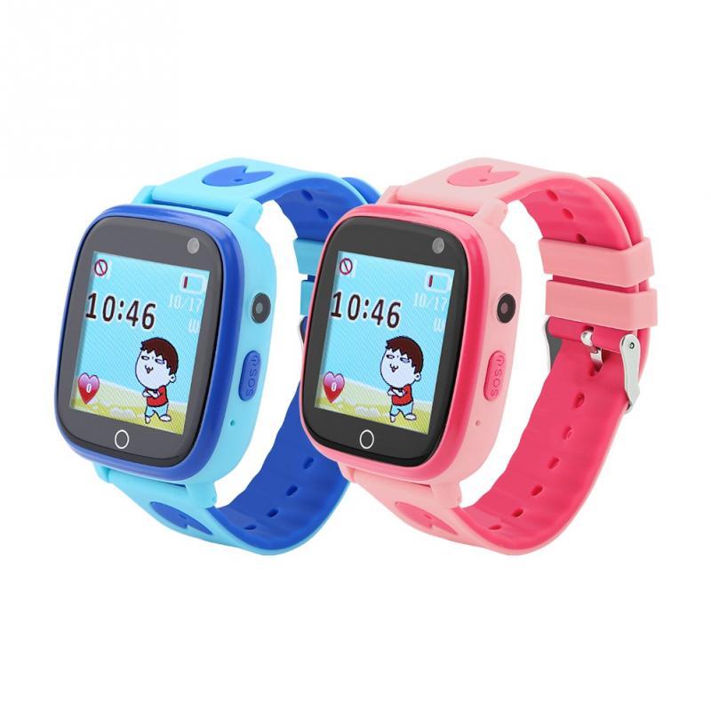 [해외]Multi-function Children`s WiFi GPS LBS Positioning Smart Phone Watch Locator Tracker SOS Call SMS/Multi-function Children`s WiFi GPS LBS Positioni