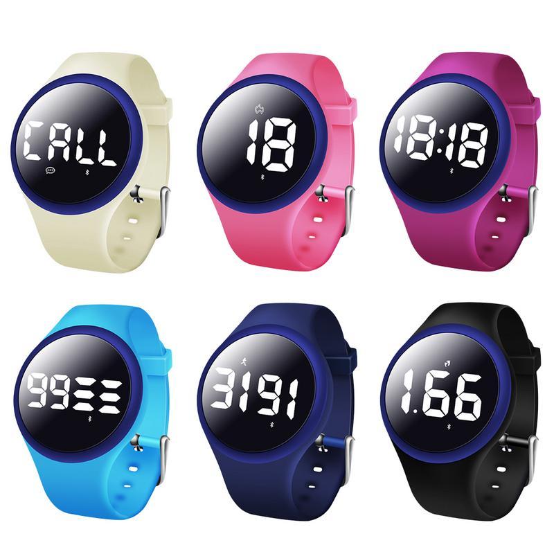 [해외] Smart Bracelet Fashion Environmental Protection TPU Wristband Smart Phone Call SMS Information Reminder Intelligent Bracelet/ Smart Bracelet Fash