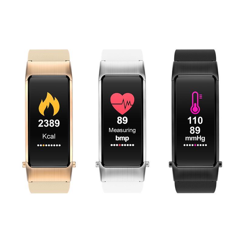 [해외]Smart Bracelet Bluetooth Headset 2 In 1 Call Reminder Wireless Call Heart Rate Monitoring Sports Bracelet Blood Pressure 3 Color/Smart Bracelet Bl