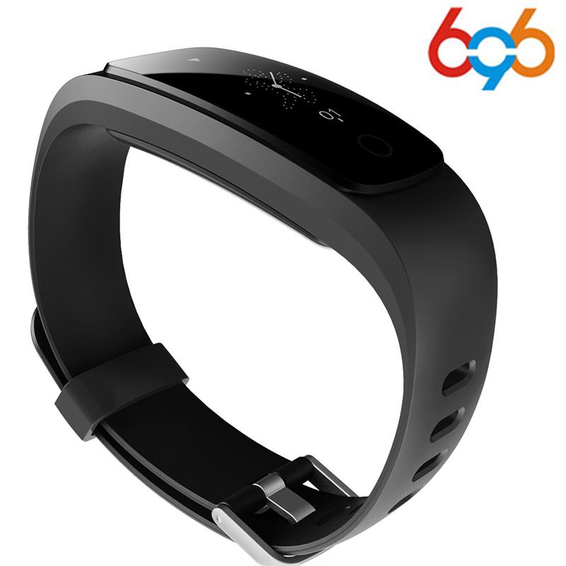 [해외]696 Orginal ID107Plus HR Smart Heart Rate Bracelet Monitor ID107 Plus Wristband Health Fitness Tracking For 안드로이드 iOS Vs MI Ba/696 Orginal ID107Pl