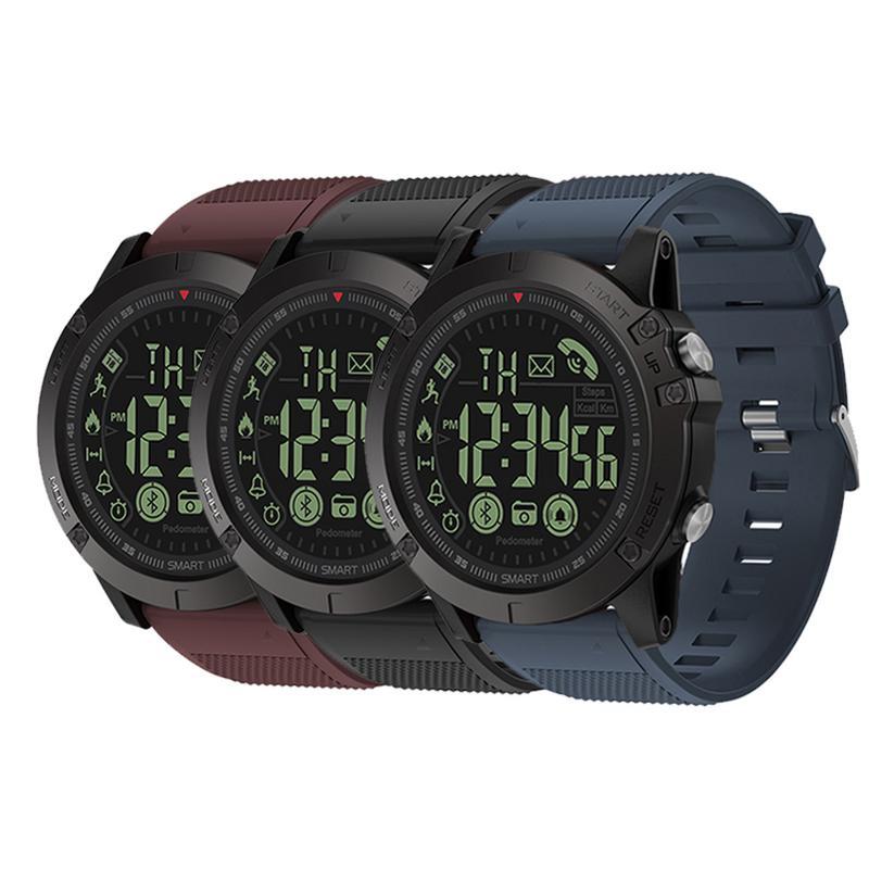 [해외]Smart Watch Bluetooth Men`s Fashion Sports Tracker Clock Pedometer Long Standby Time Digital Waterproof Watch For 안드로이드 IOS/Smart Watch Bluetooth
