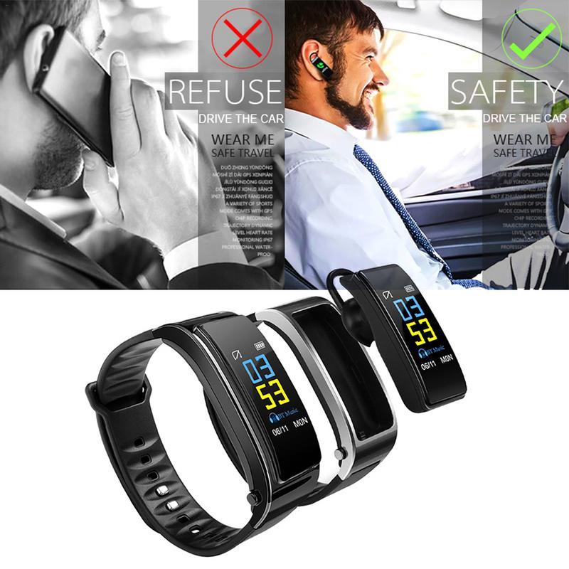 [해외]Y3PLUS Color Screen Smart Bracelet Support Step Counter Call Music Play Heart Rate Monitoring/Y3PLUS Color Screen Smart Bracelet Support Step Coun