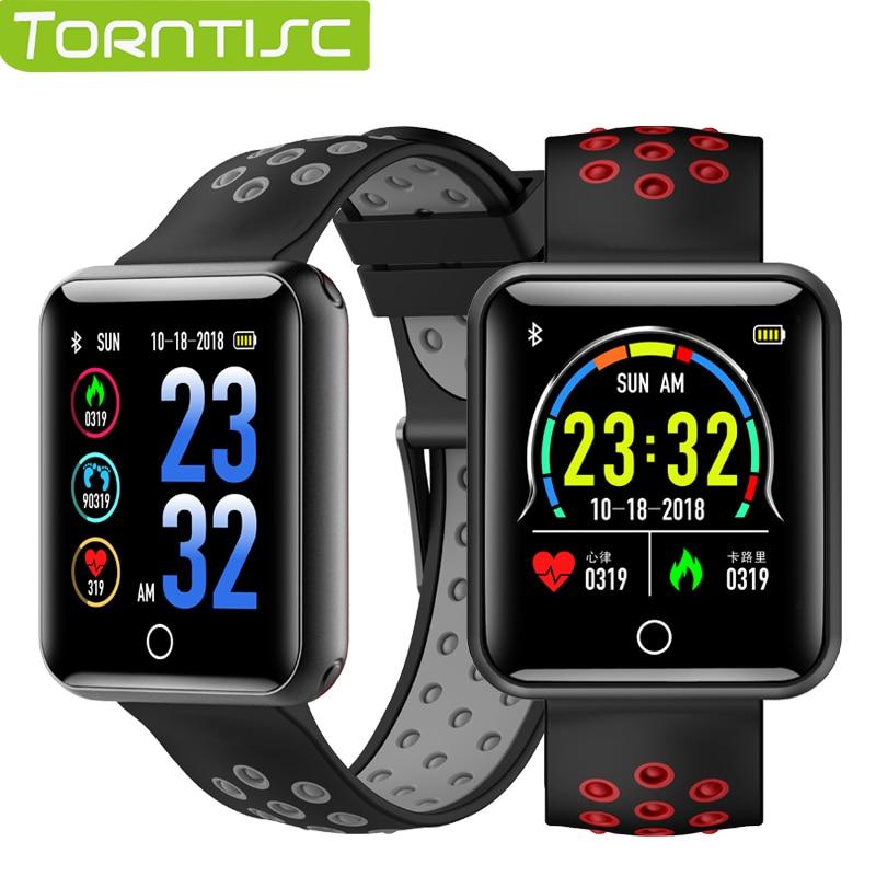 [해외]Torntisc Q18 Fitness Bracelet 2rd generation IP68 Waterproof Heart Rate Blood Pressure Monitor Pedometer Smart Band Smart watch/Torntisc Q18 Fitne