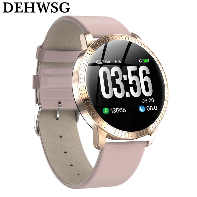 [해외]Smart watch CF18 IP67 waterproof Tempered glass Activity Fitness tracker Heart rate monitor BRIM Men women smartwatch VS V11 Q8/Smart watch CF18 I