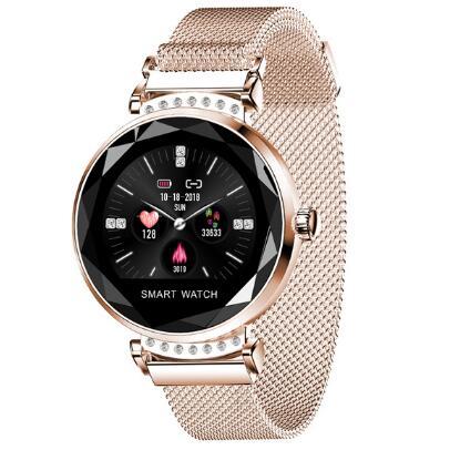 [해외]Fashion Smart Watch Women H2 Female wristband 3D Diamond smart bracelet Heart Rate Blood Pressure Sleep Monitor Gifts Smartwatch/Fashion Smart Wat