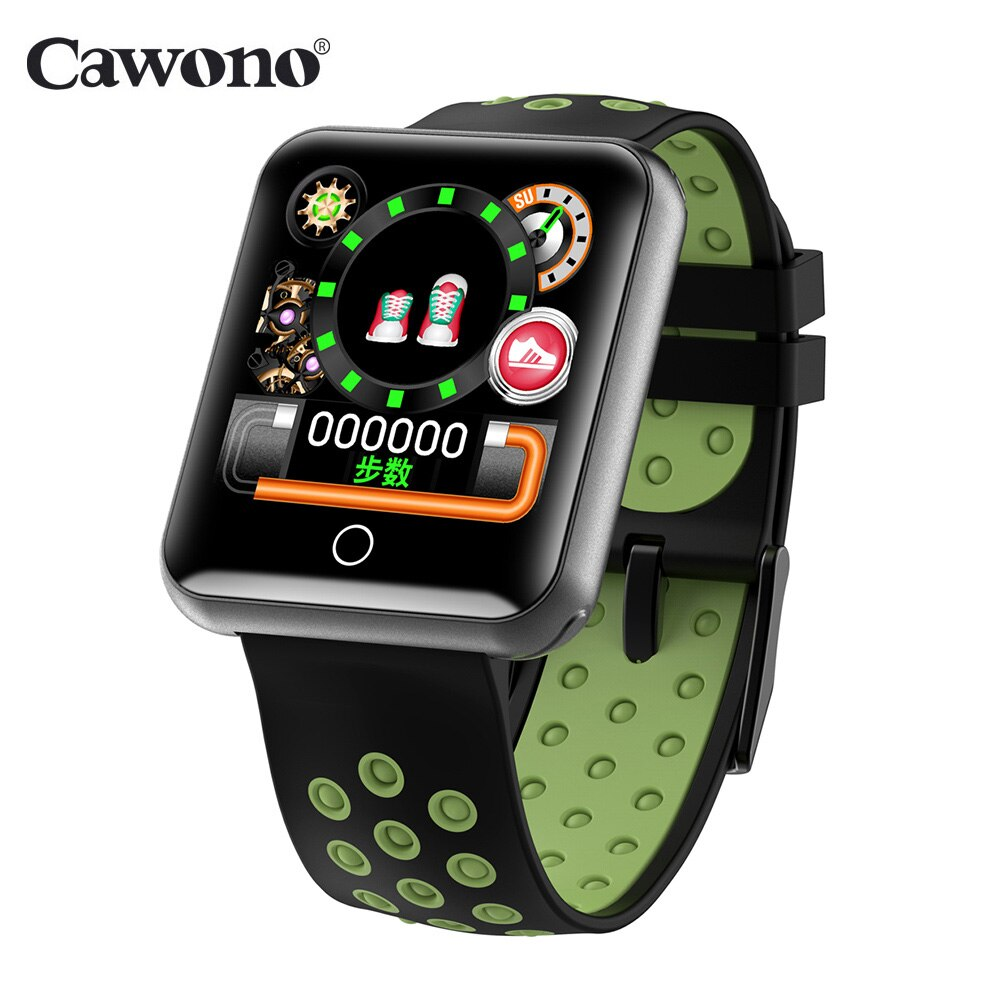 [해외]Cawono CW18 Smart Bracelet 1.54`` Heart Rate Tracker Blood Pressure Measure IP68 Waterproof Smart Wristband Detachable Strap /Cawono CW18 Smart Br