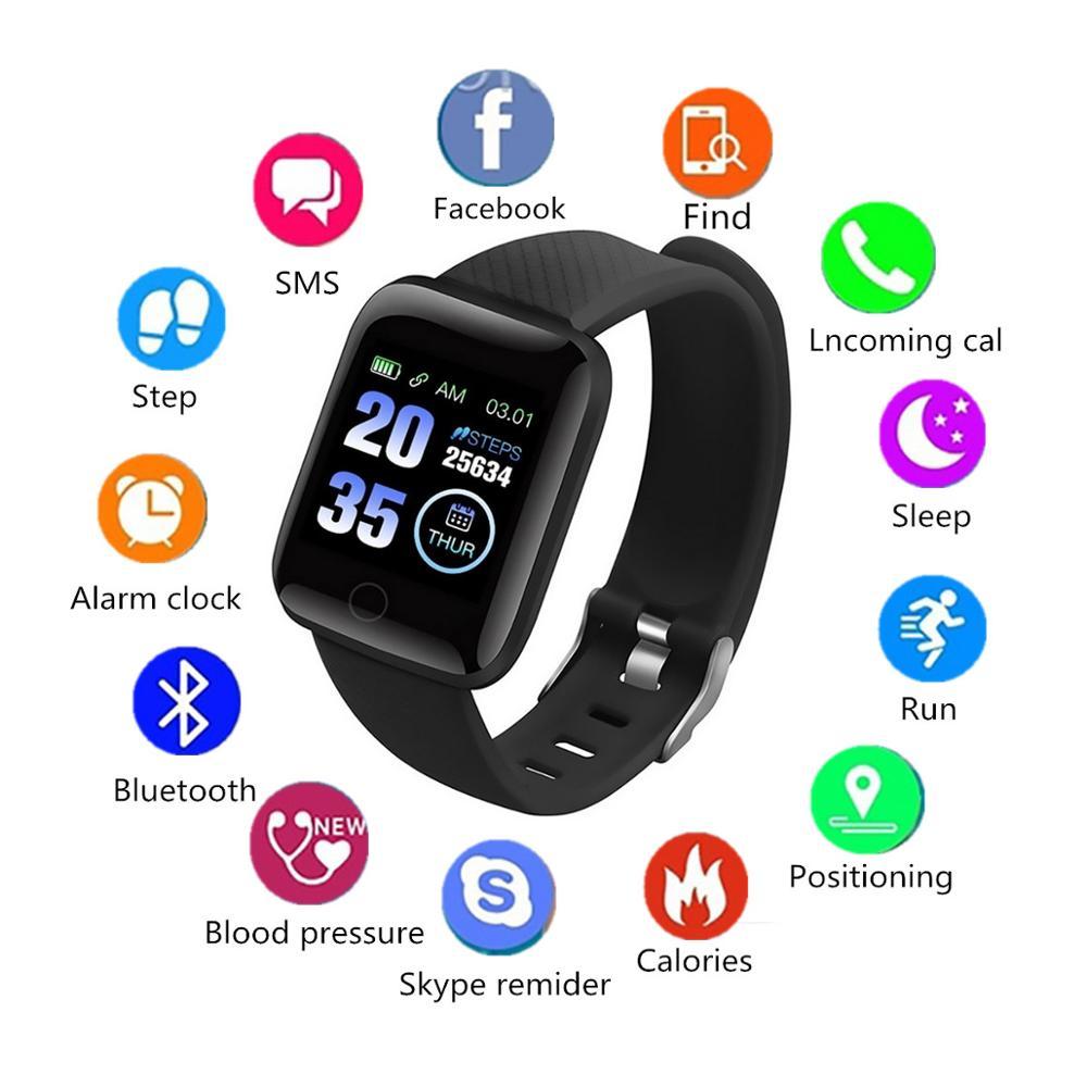 [해외]Wireless Bluetooth Smart Fashion Fitness Bracelet Blood Pressure Heart Monitor Multi-Select Color Bracelet Wrist Strap Detachabl/Wireless Bluetoot