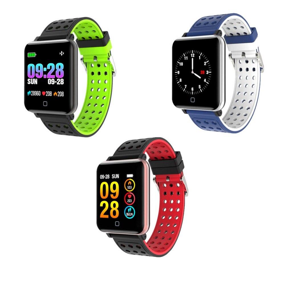 [해외]Fitness Bracelet Smart Watch Bracelet Pedometer  Heart Rate Blood Pressure Waterproof Fitness Tracker Wristwatch Many Languages/Fitness Bracelet S